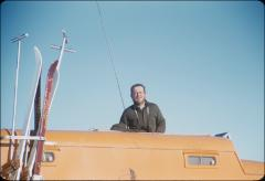 Thumbnail of William J. Cromie and sno-cat