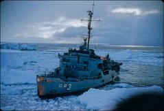 Thumbnail of Icebreaker USS Atka (AGB-3) in Kainan Bay