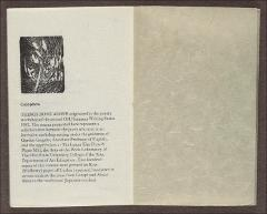 Thumbnail of Things Done Alone : Poetry selected from The 1982 Ohio State University Summer Writing Series