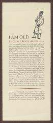 Thumbnail of I Am Old Thomas Frognall Dibdon