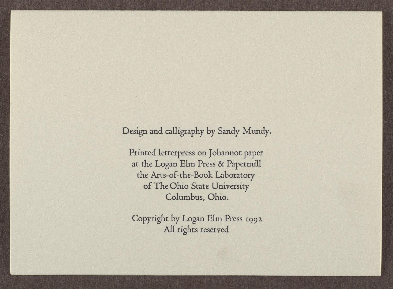 Logan Elm Press Greeting Cards
