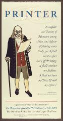 Thumbnail of Ben Franklin Printer
