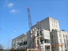 Thumbnail of Demolition of the 1977 addition