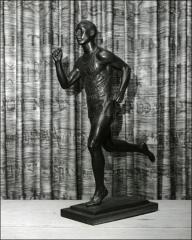 Thumbnail of The Jesse Owens statue sculpted by Professor Joe Brown, 1936