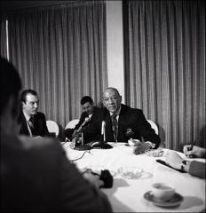 Thumbnail of Jesse Owens in an interview at the Ohio State University Franklin County Alumni Talk, 1969
