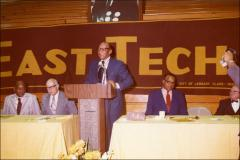 Thumbnail of Jesse Owens speaks at the New East Technical High School Dedication, 1972