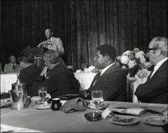 Thumbnail of Jesse Owens speaks at the NCAA Honors Luncheon, 1974
