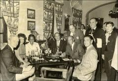 Thumbnail of Jesse and Ruth Owens at the San Angel Inn Restaurant, Mexico City, 1968