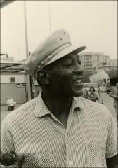 Thumbnail of Jesse Owens during his trip to Italy, 1951