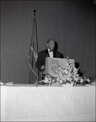 Thumbnail of Jesse Owens speaks at the Sphinx initiation, 1956