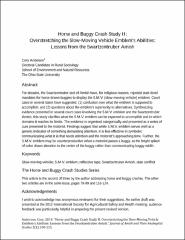 Horse and Buggy Crash Study II: Overstretching the Slow