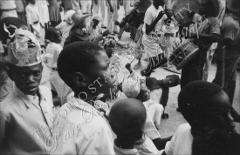 Thumbnail of Children in carnival crowd