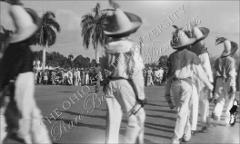 Thumbnail of Carnival troupe in Mexican hats