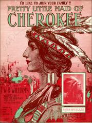 Thumbnail of Pretty little maid of Cherokee