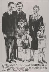Thumbnail of The Goebbels with Three Children and Hitler