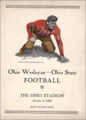 Thumbnail of OSU Football Program: October 6, 1923