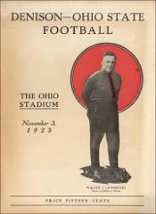 Thumbnail of OSU Football Program: November 3, 1923