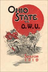 Thumbnail of OSU Football Program: October 4, 1919