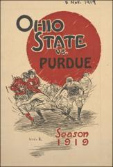 Thumbnail of OSU Football Program: November 8, 1919