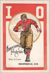 Thumbnail of OSU Football Program: November 22, 1919