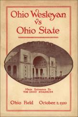 Thumbnail of OSU Football Program: October 2, 1920