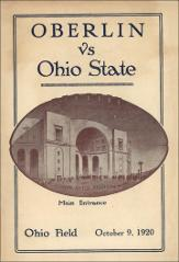 Thumbnail of OSU Football Program: October 9, 1920