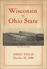 Thumbnail of OSU Football Program: October 23, 1920