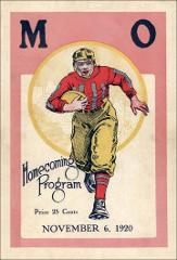 Thumbnail of OSU Football Program: November 6, 1920