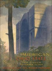 Thumbnail of OSU Football Program: November 15, 1924