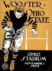 Thumbnail of OSU Football Program: November 1, 1924