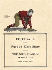 Thumbnail of OSU Football Program: October 4, 1924