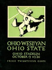 Thumbnail of OSU Football Program: October 9, 1926