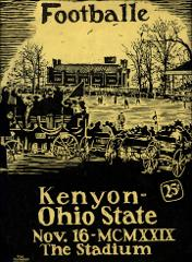 Thumbnail of OSU Football Program: November 16, 1929