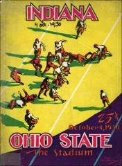 Thumbnail of OSU Football Program: October 4, 1930