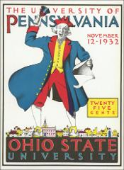 Thumbnail of OSU Football Program: November 12, 1932