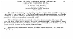 Thumbnail of EFFECT OF FERMI RESONANCE ON THE CENTRIFUGAL DISTORTION CONSTANTS D OF $CO_{2}$.