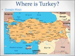Turkey and the European Union Lesson Plan