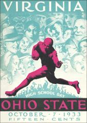Thumbnail of OSU Football Program: October 7, 1933