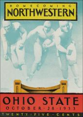 Thumbnail of OSU Football Program: October 28, 1933
