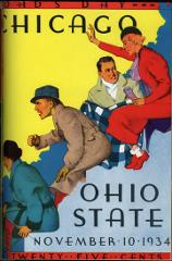 Thumbnail of OSU Football Program: November 10, 1934