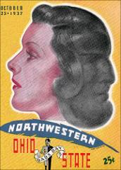 Thumbnail of OSU Football Program: October 23, 1937