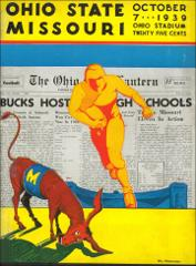 Thumbnail of OSU Football Program: October 7, 1939