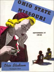 Thumbnail of OSU Football Program: September 27, 1941