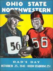 Thumbnail of OSU Football Program: October 25, 1941