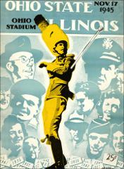 Thumbnail of OSU Football Program: November 17, 1945