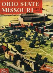 Thumbnail of OSU Football Program: September 27, 1947