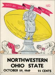 Thumbnail of OSU Football Program: October 29, 1949