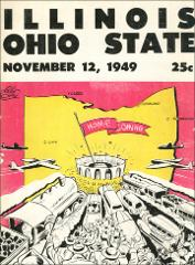 Thumbnail of OSU Football Program: November 12, 1949