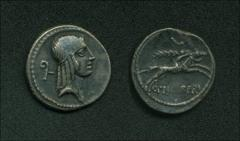 Thumbnail of C. PISO L. F. FRUGI, moneyer – CR 408/1b