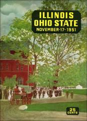 Thumbnail of OSU Football Program: November 17, 1951